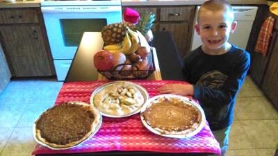 Thanksgiving Dinner Pies Camp!